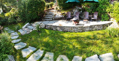 landscaping in Meredith, Holderness & Plymouth, NH