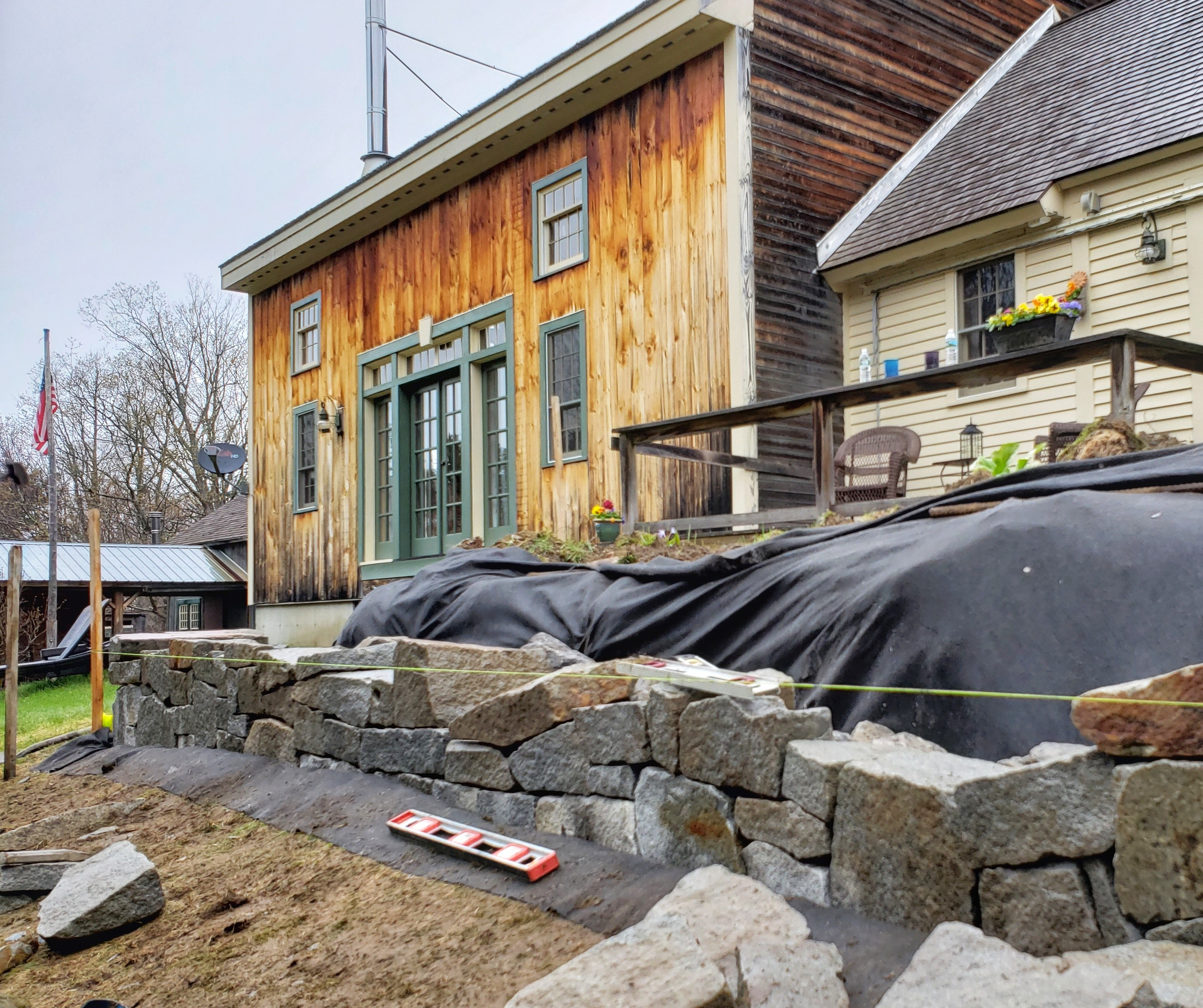 stone wall installation services in holderness NH
